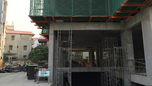 Công trình tại số 2 Kim Giang