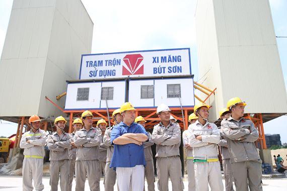 Trạm trộn bê tông Nguyễn Xiển